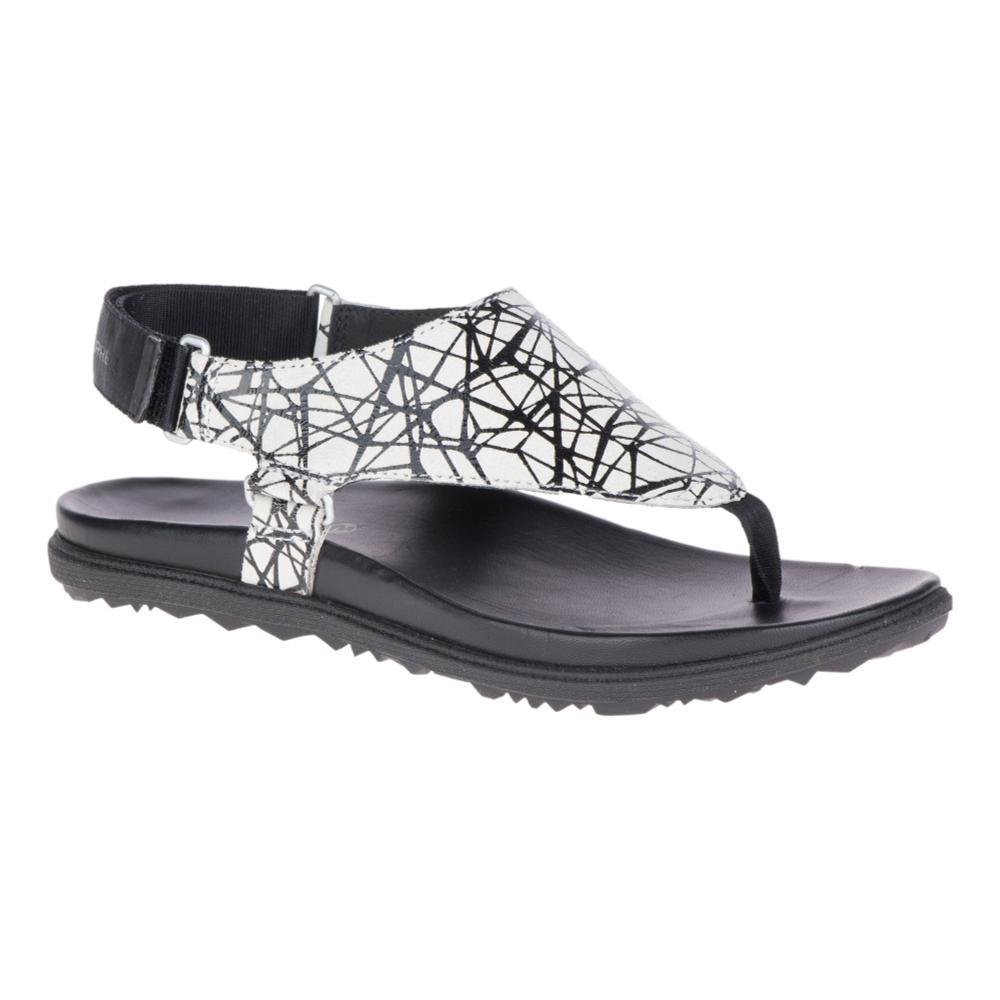 Merrell Women's Around Town Sunvue Post Sandals BLKTEXT