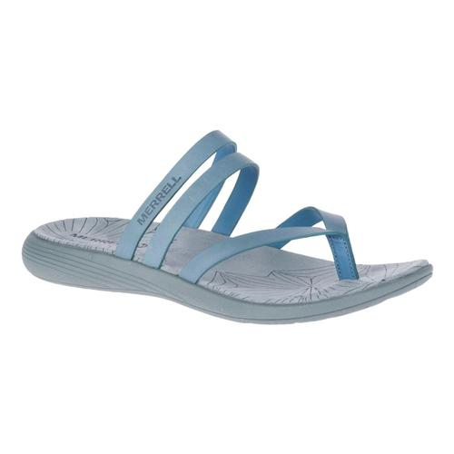 Merrell Women's Duskair Seaway Post Leather Sandals