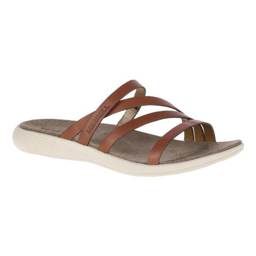 Merrell Women's Duskair Seaway Slide Leather Sandals