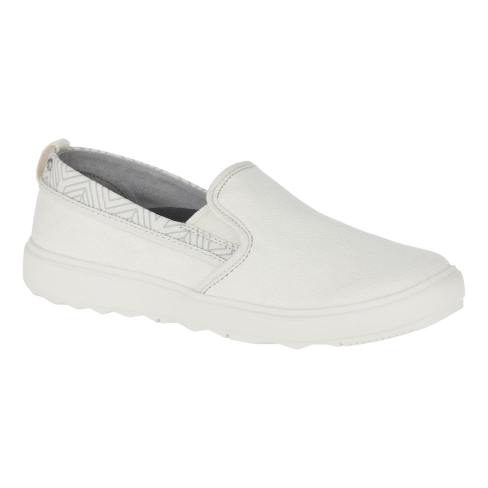 Merrell Women's Around Town City Moc Canvas Shoes WHITECAP