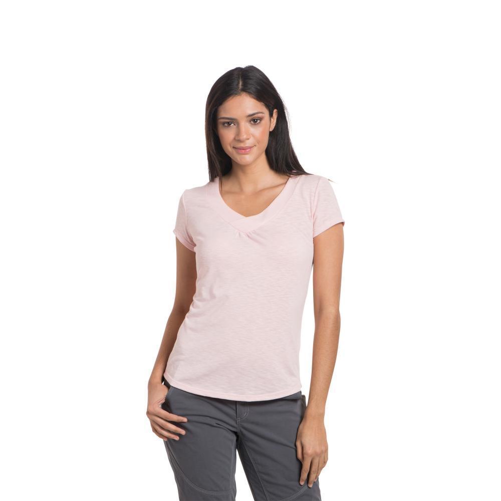 KUHL Women's Sona Short Sleeve Shirt BLUSH