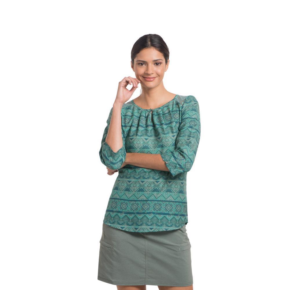 KUHL Women's Flora 3/4 Sleeve Shirt JASPER