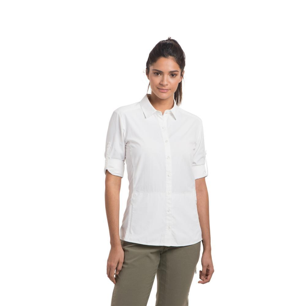 KÜHL Women's Invoke Long Sleeve Shirt WHITE