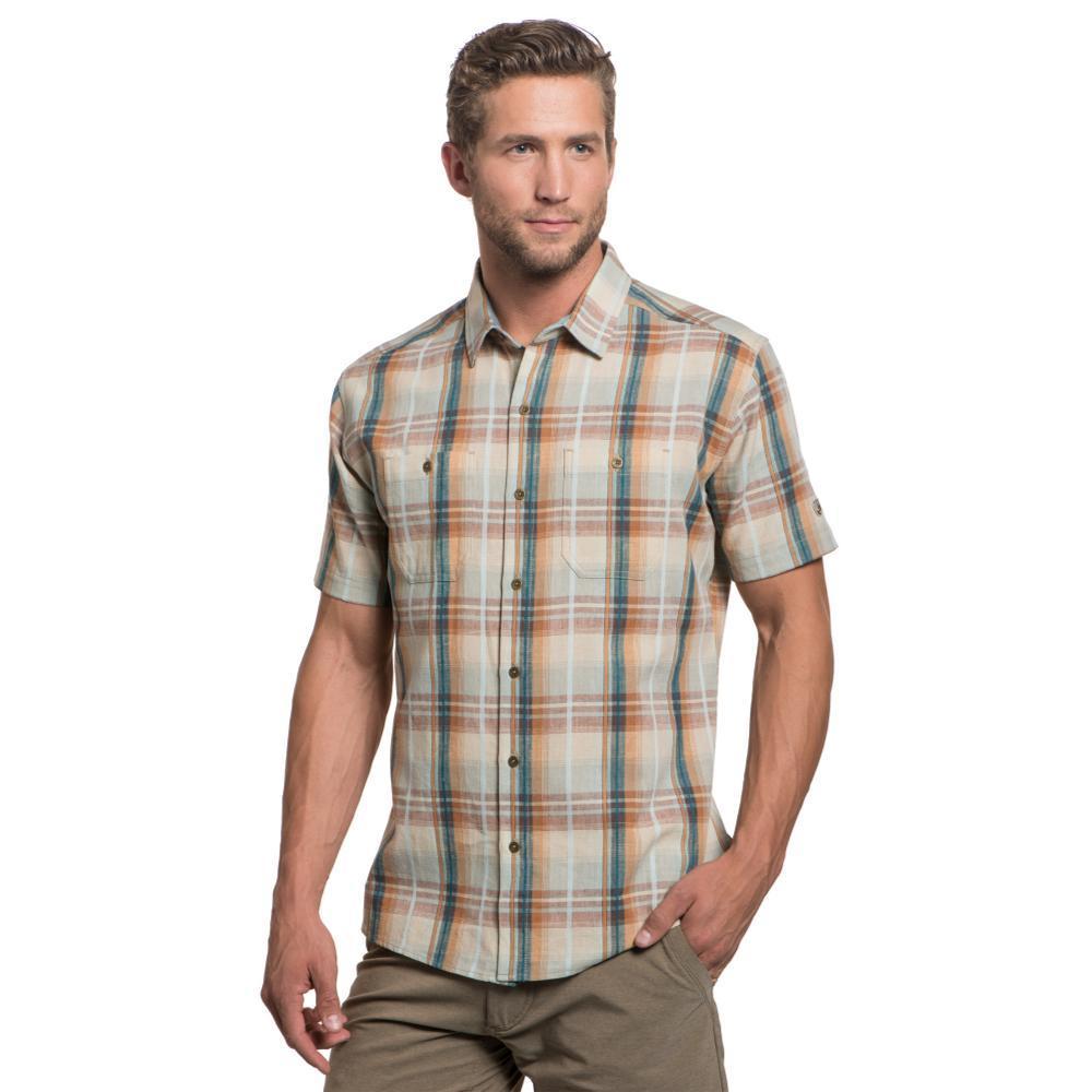 KUHL Men's Skorpio Regular Short Sleeve Shirt CEDAR