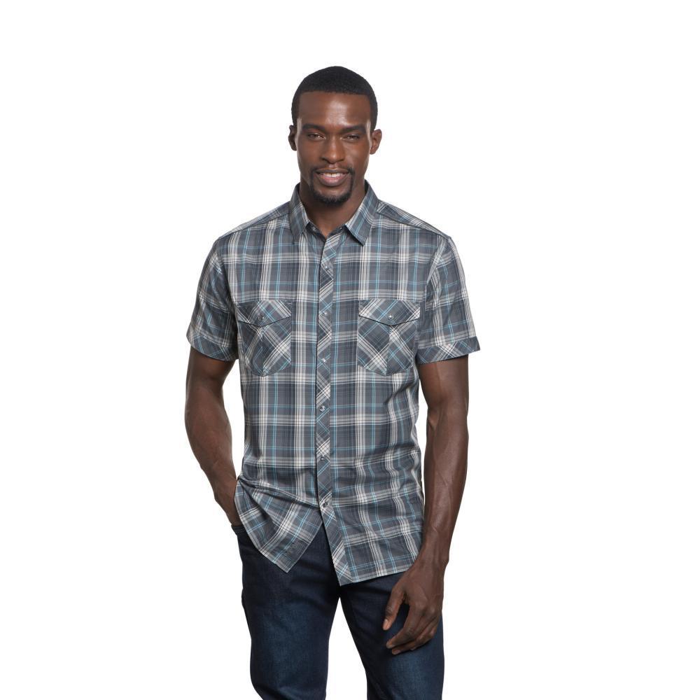 KUHL Men's Konquer Short Sleeve Shirt STORM