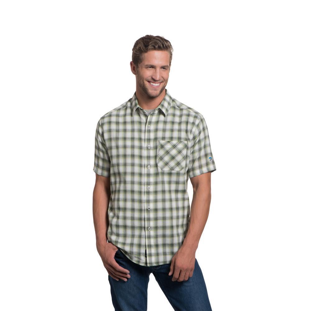 KUHL Men's Tropik Short Sleeve Shirt KEYLIME