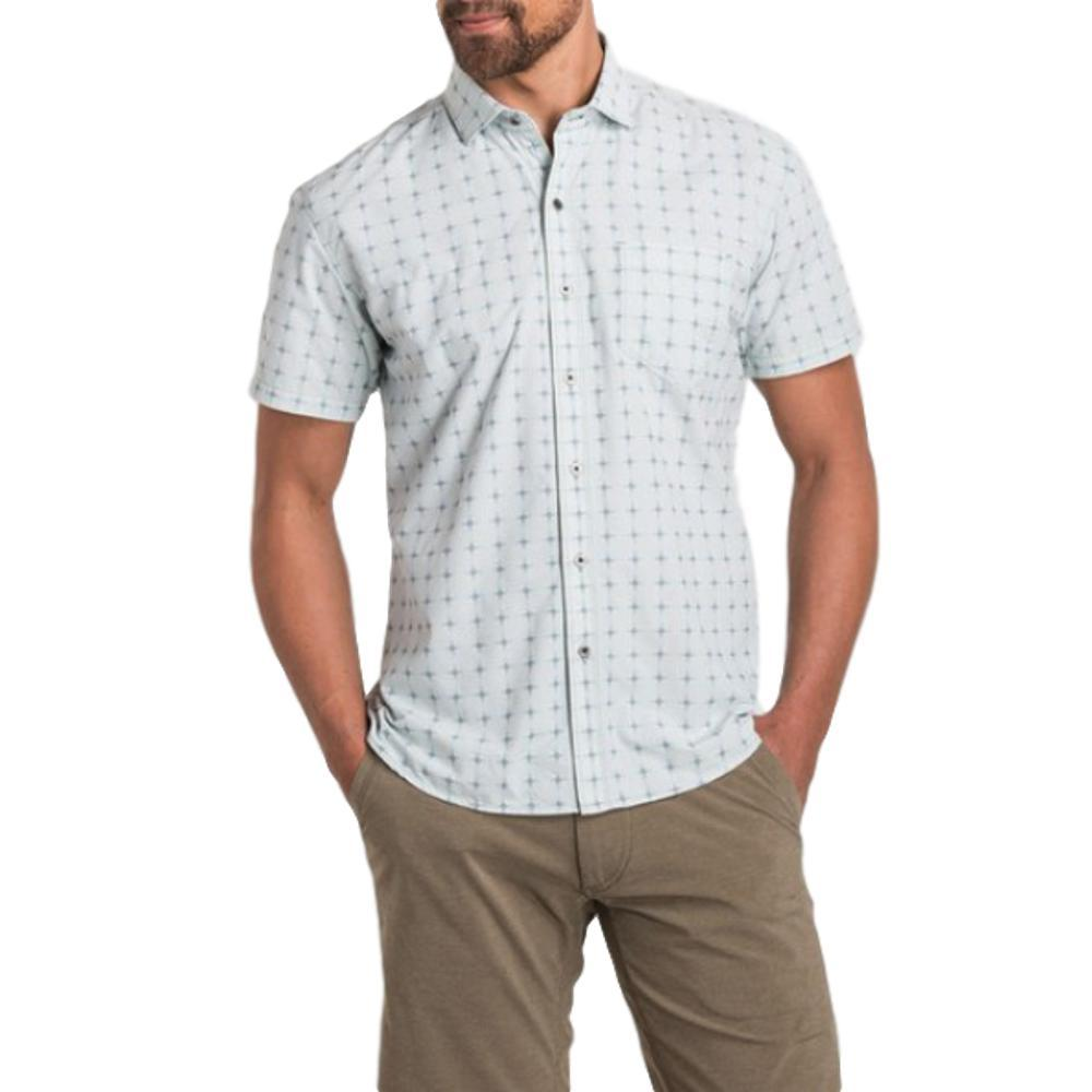 KUHL Men's Intrepid Short Sleeve Shirt SAILBLUE