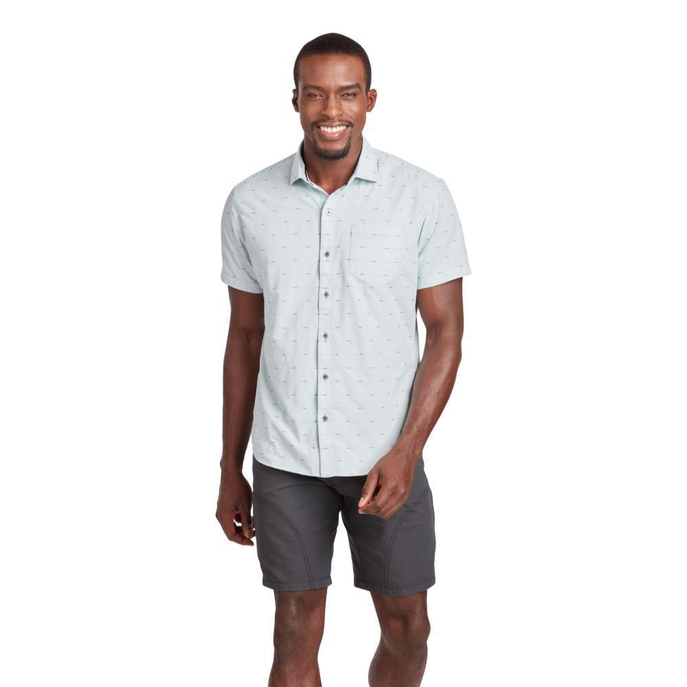 KUHL Men's Intrepid Short Sleeve Tapered Fit Shirt SBREEZE