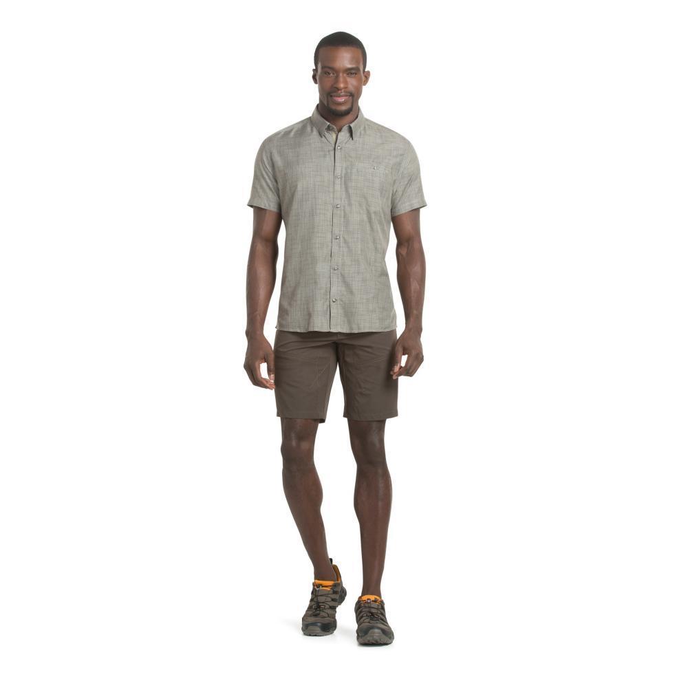 KÜHL Men's Krossfire Short Sleeve Shirt SPANMOSS