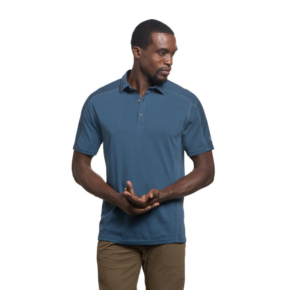 KUHL Men's Wayfarer Polo LAKEBLUE
