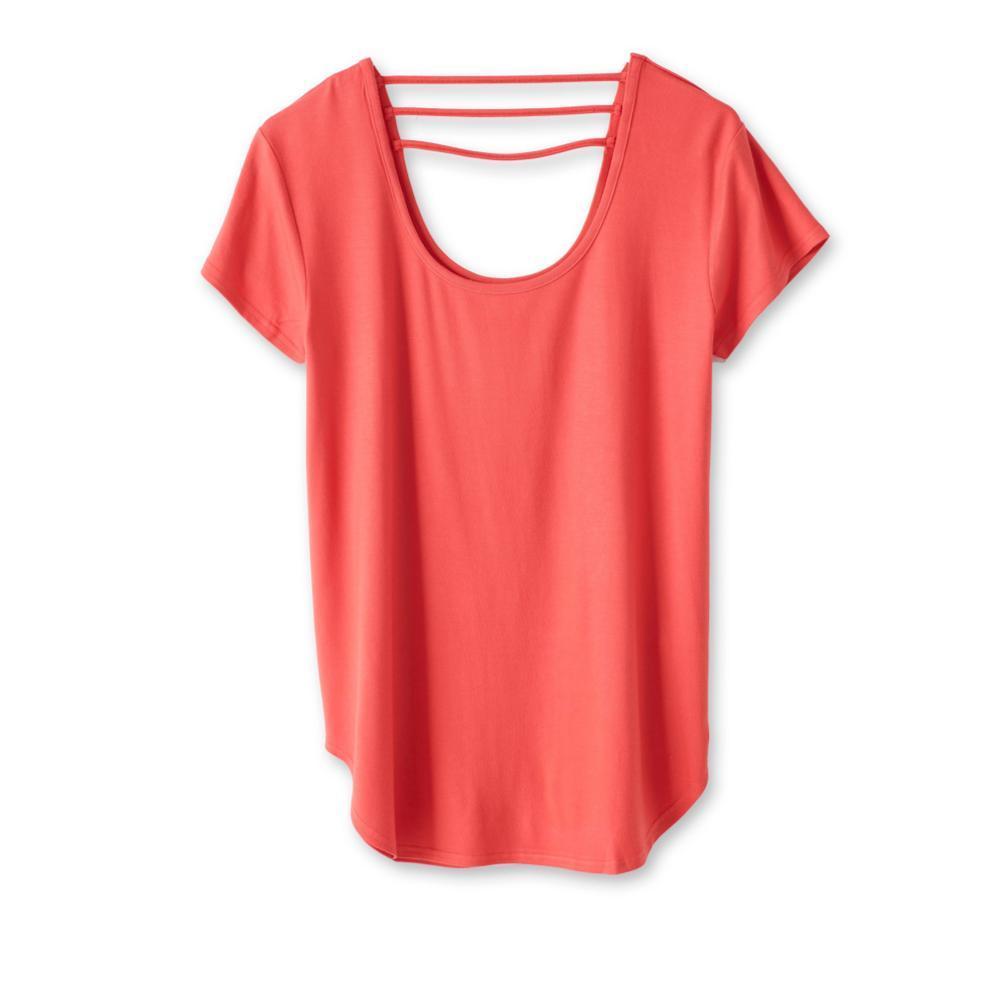 Kavu Women's Cozumel Short Sleeve Shirt PAPRIKA
