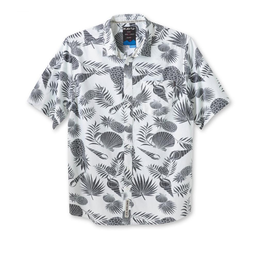 Kavu Men's Festaruski Short Sleeve Shirt PINEAPPLE