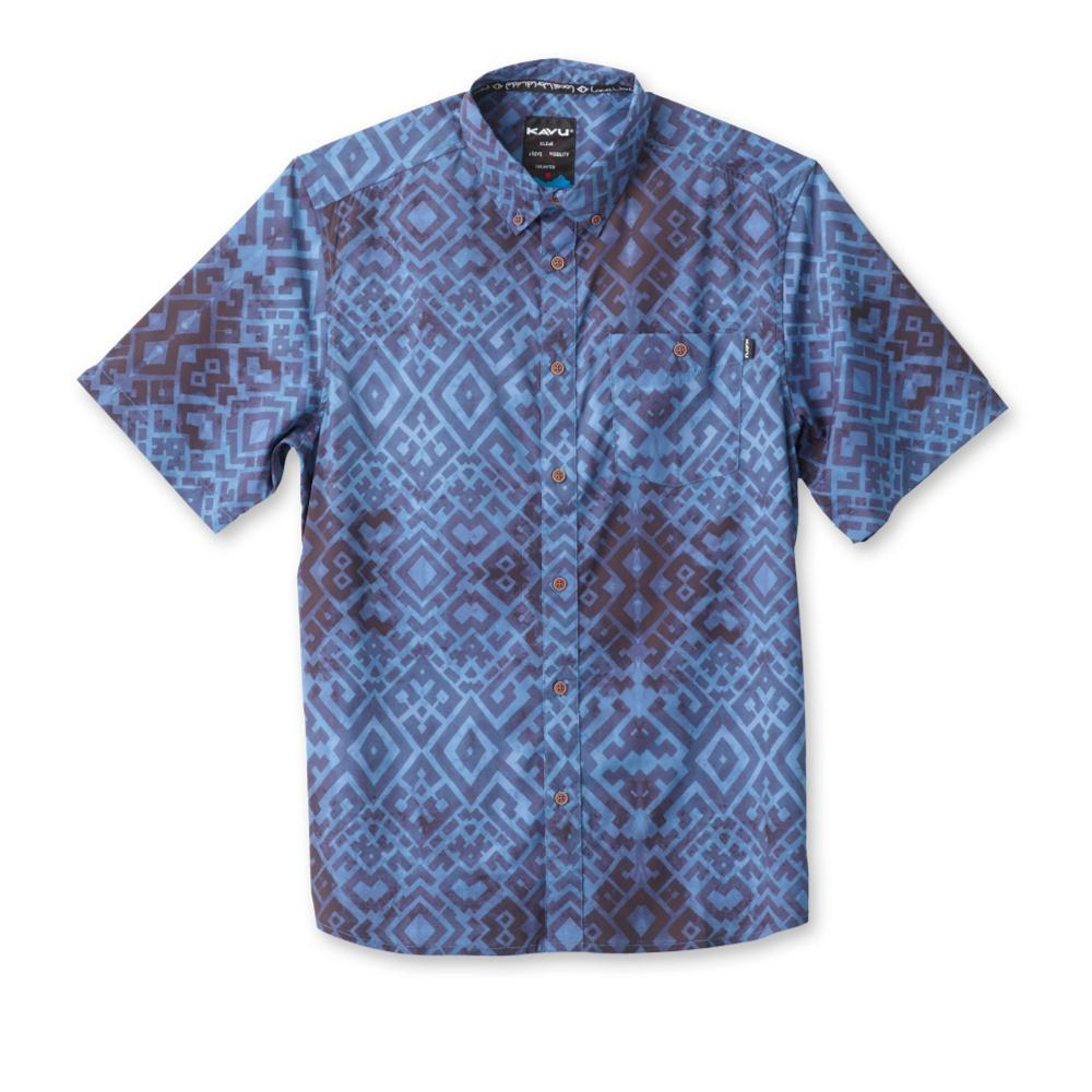 Kavu Men's River Wrangler Short Sleeve Shirt INDIGO