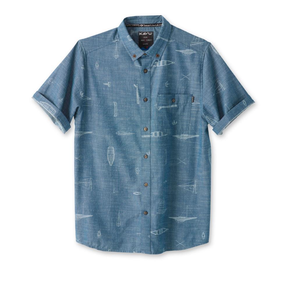 Kavu Men's Juan Short Sleeve Shirt MARITIME