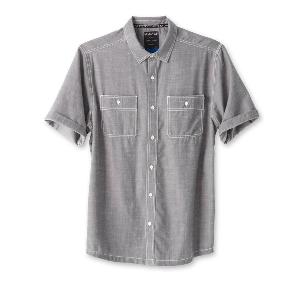 Kavu Men's Jacksonville Short Sleeve Shirt SMOKPEARL