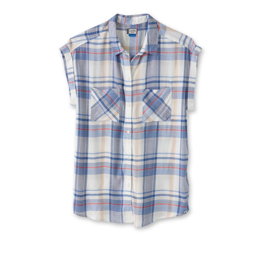 Kavu Women's Belfair Short Sleeve Shirt OCEAN