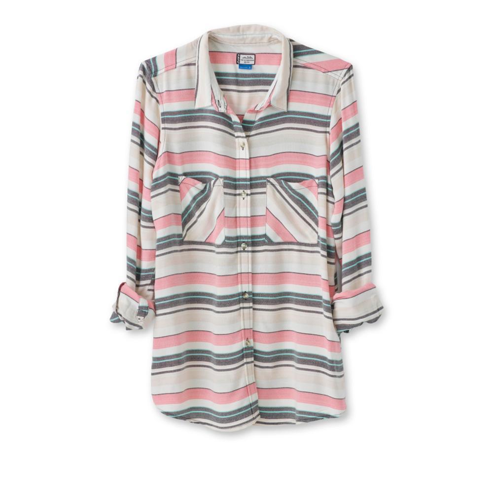 Kavu Women's Britt Long Sleeve Shirt CORAL