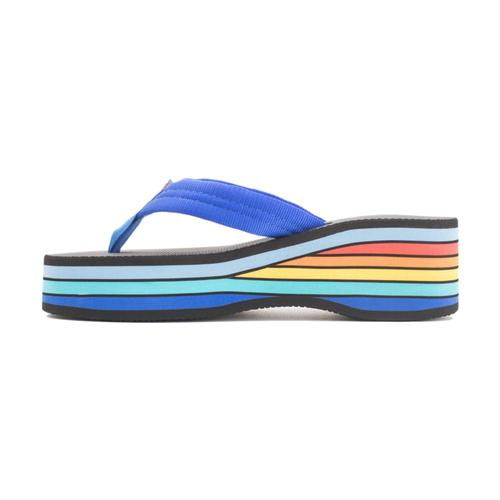 Rainbow Women's Classic Rubber 6 Layer Wedge Sandals