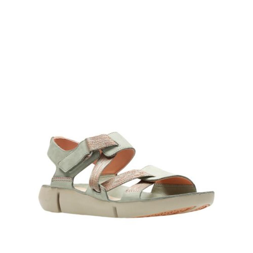 Clarks Women's Tri Clover Sandals LTGREEN