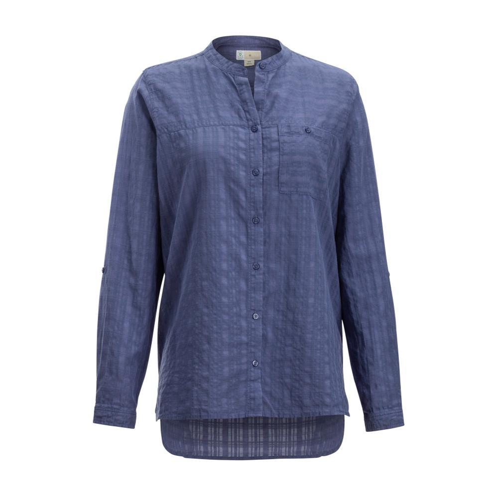 ExOfficio Women's BugsAway Collette L/S Shirt BLUEHERON