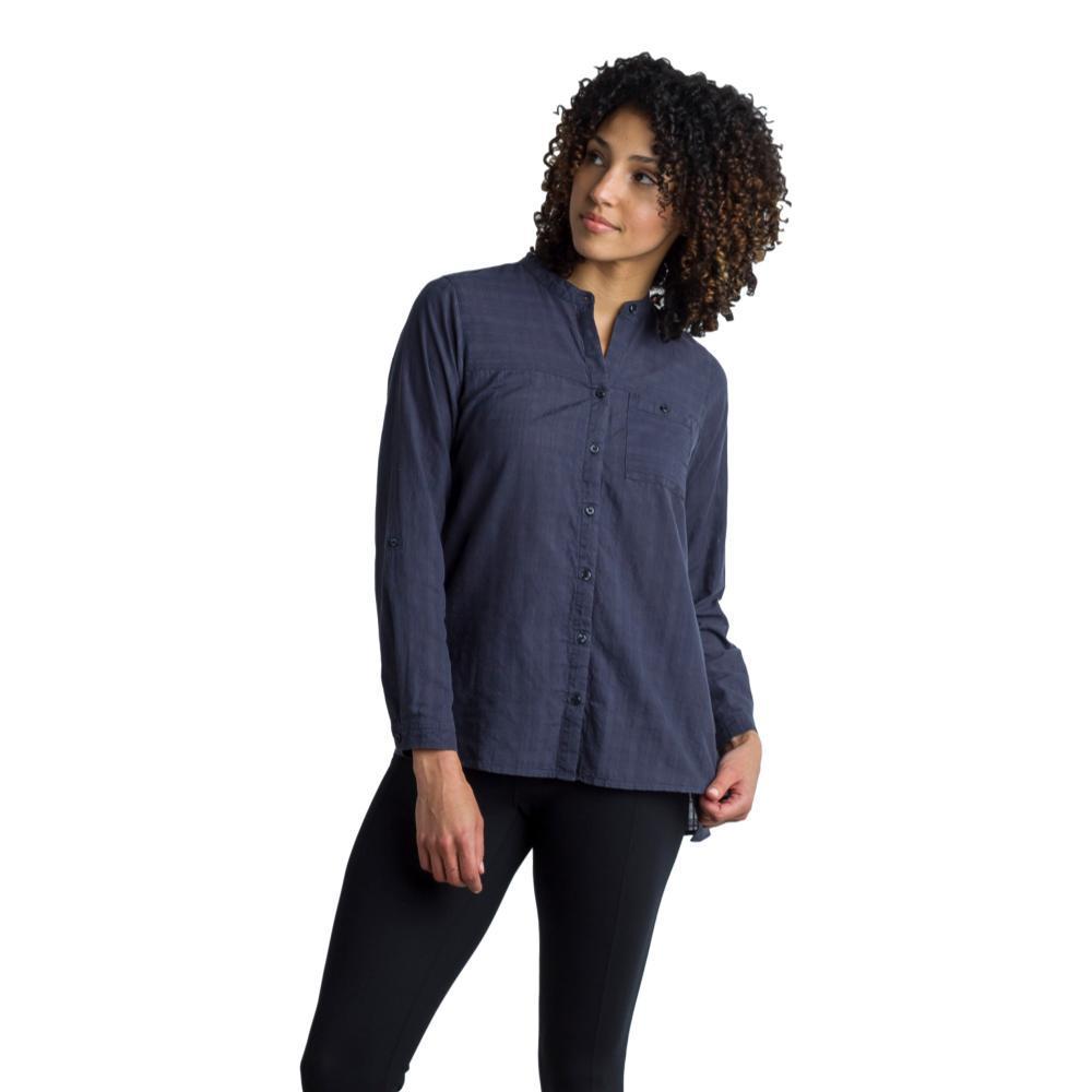 ExOfficio Women's BugsAway Collette L/S Shirt CARBON
