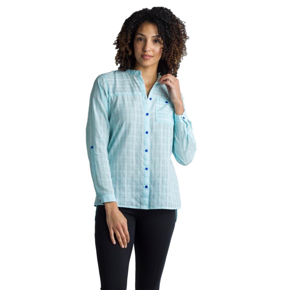 ExOfficio Women's BugsAway Collette L/S Shirt ICELANDIC