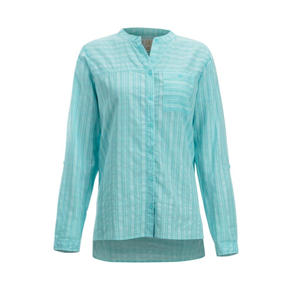 ExOfficio Women's BugsAway Collette L/S Shirt MYSTICBLUE