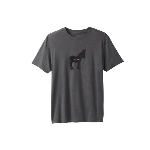 prAna Men's Wise Ass Journeyman T-Shirt Charchth