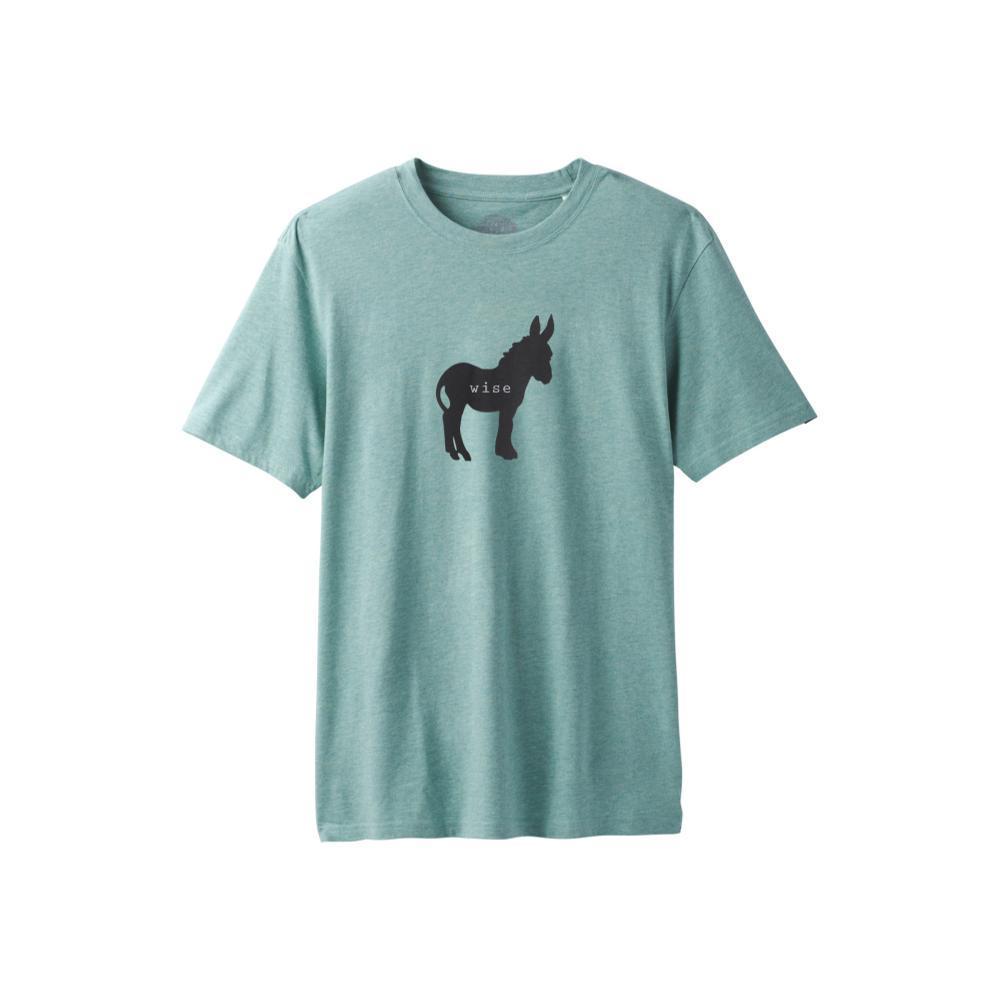 prAna Men's Wise Ass Journeyman T-Shirt GREENHEATHER
