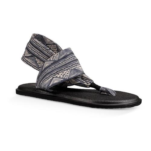 Sanuk Women's Yoga Sling 2 Prints Sandals TANBLKGEO
