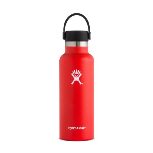 Hydro Flask 18oz Standard Mouth Bottle - Flex Cap Lava