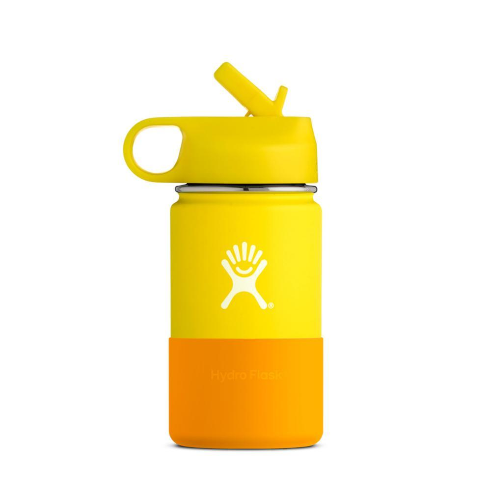 Hydro Flask Kids 12oz Wide Mouth Bottle LEMON