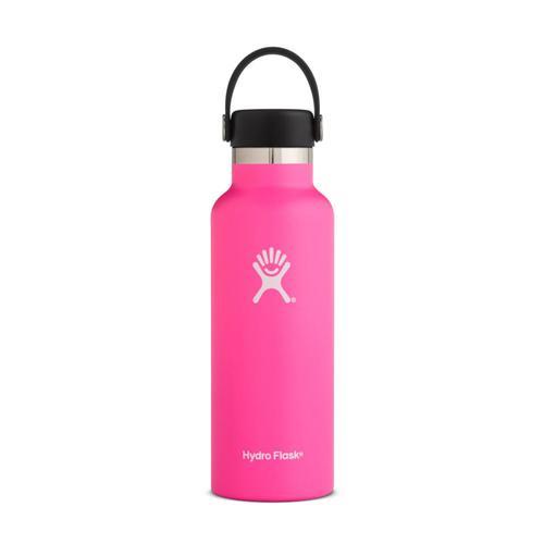 Hydro Flask 18oz Standard Mouth Bottle - Flex Cap Flamingo