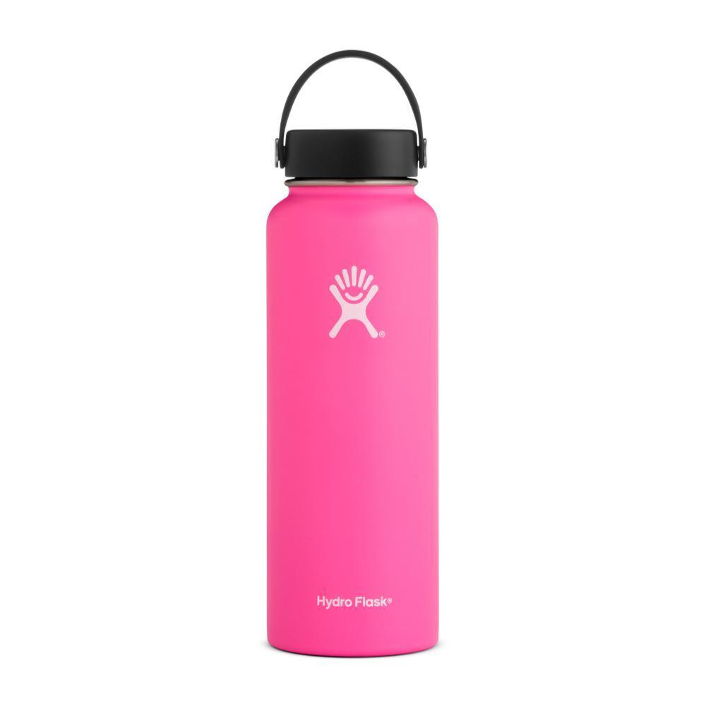 Hydro Flask 40oz Wide Mouth Bottle - Flex Cap FLAMINGO
