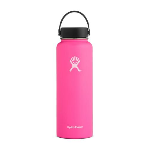 Hydro Flask 40oz Wide Mouth Bottle - Flex Cap FLAMINGO