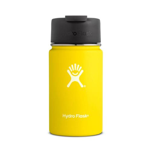 Hydro Flask 12oz Wide Mouth Bottle - Flip Cap LEMON