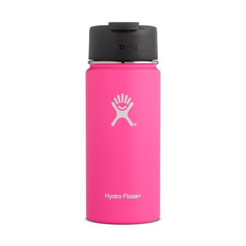 Hydro Flask 16oz Wide Mouth Bottle - Flip Cap FLAMINGO