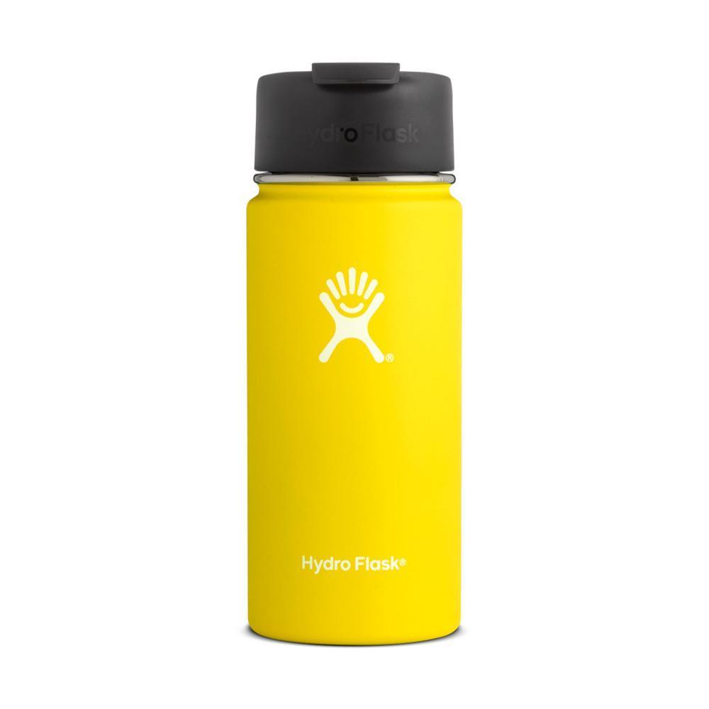 Hydro Flask 16oz Wide Mouth Bottle - Flip Cap LEMON