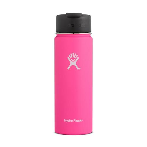 Hydro Flask 20oz Wide Mouth Bottle - Flip Lid FLAMINGO