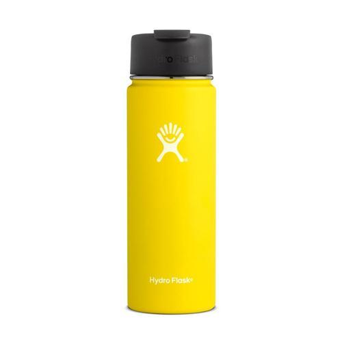 Hydro Flask 20oz Wide Mouth Bottle - Flip Lid Lemon