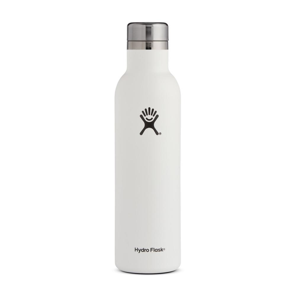 Hydro Flask 25oz Wine Bottle WHITE