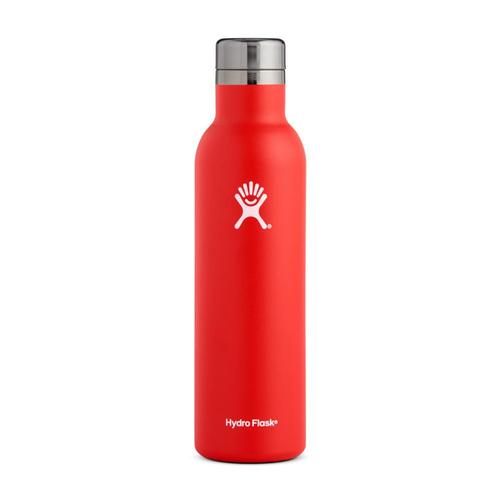 Hydro Flask 25oz Wine Bottle LAVA