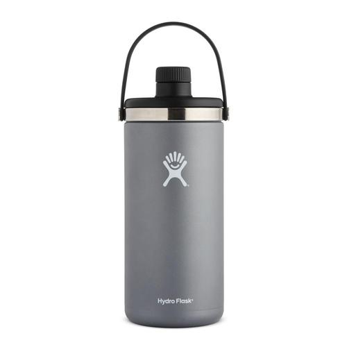 Hydro Flask 128oz Oasis Bottle GRAPHITE