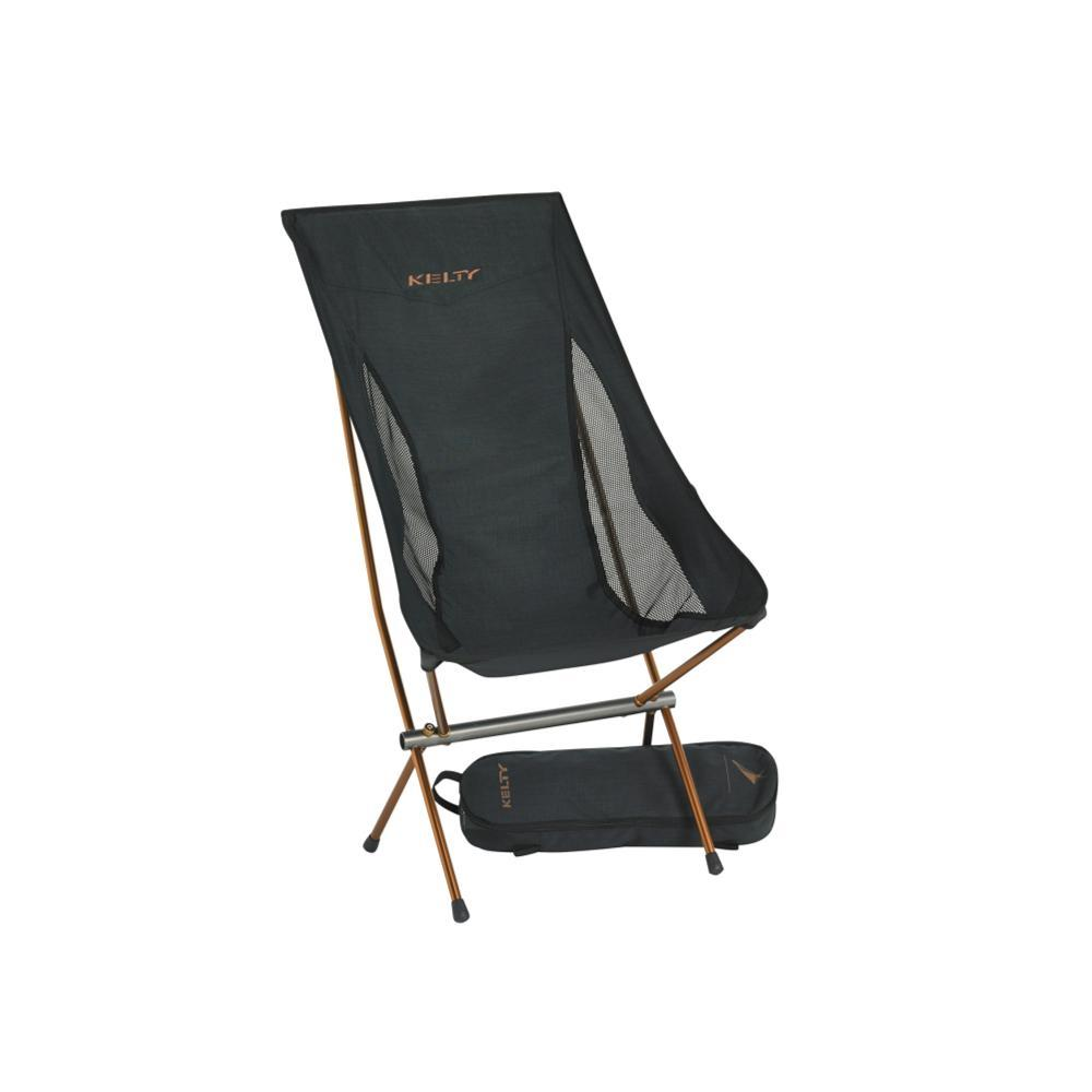 Kelty Linger High-back Chair BLACK