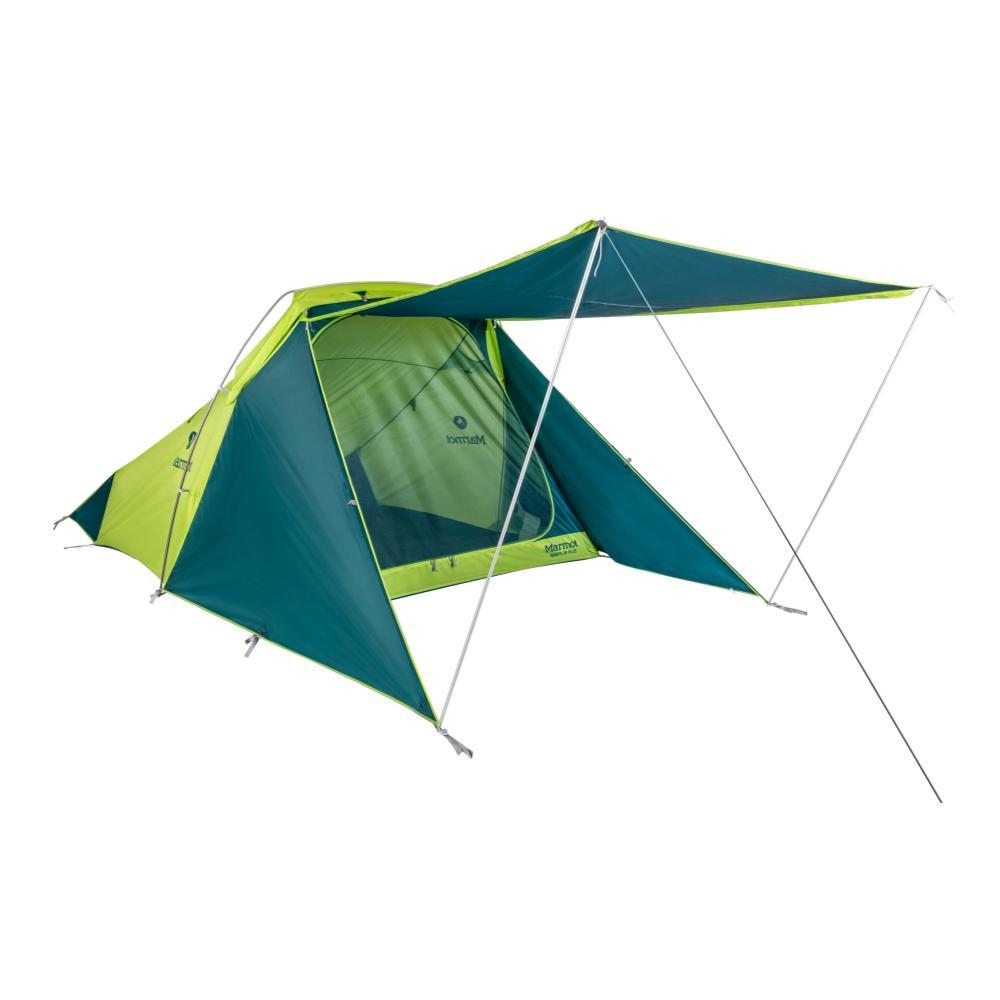 Marmot Mantis 3P Plus Tent GRNTEAL_4953