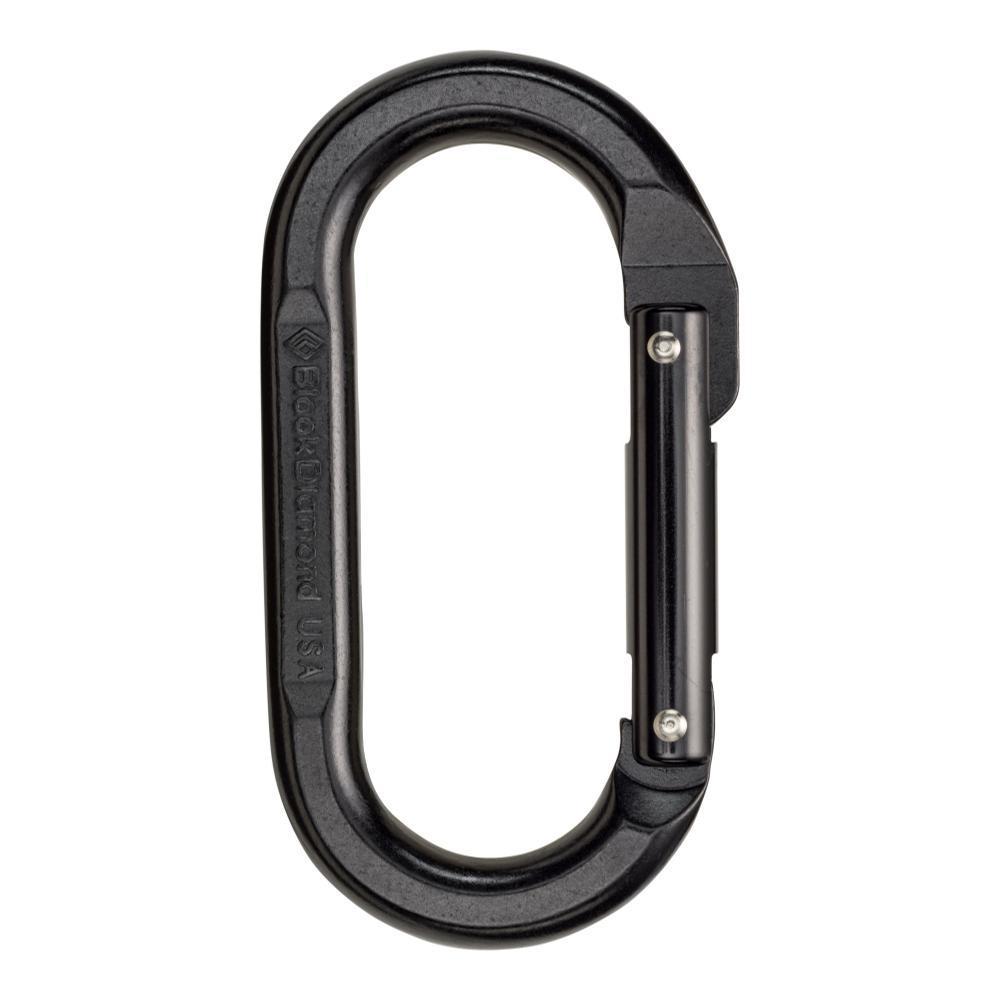 Black Diamond Oval Carabiner - Black BLACK