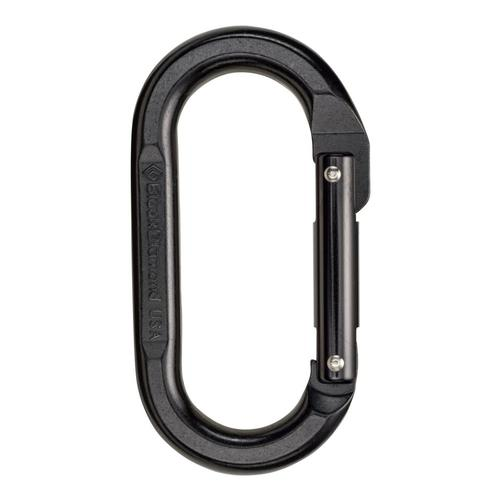 Black Diamond Oval Carabiner - Black Black