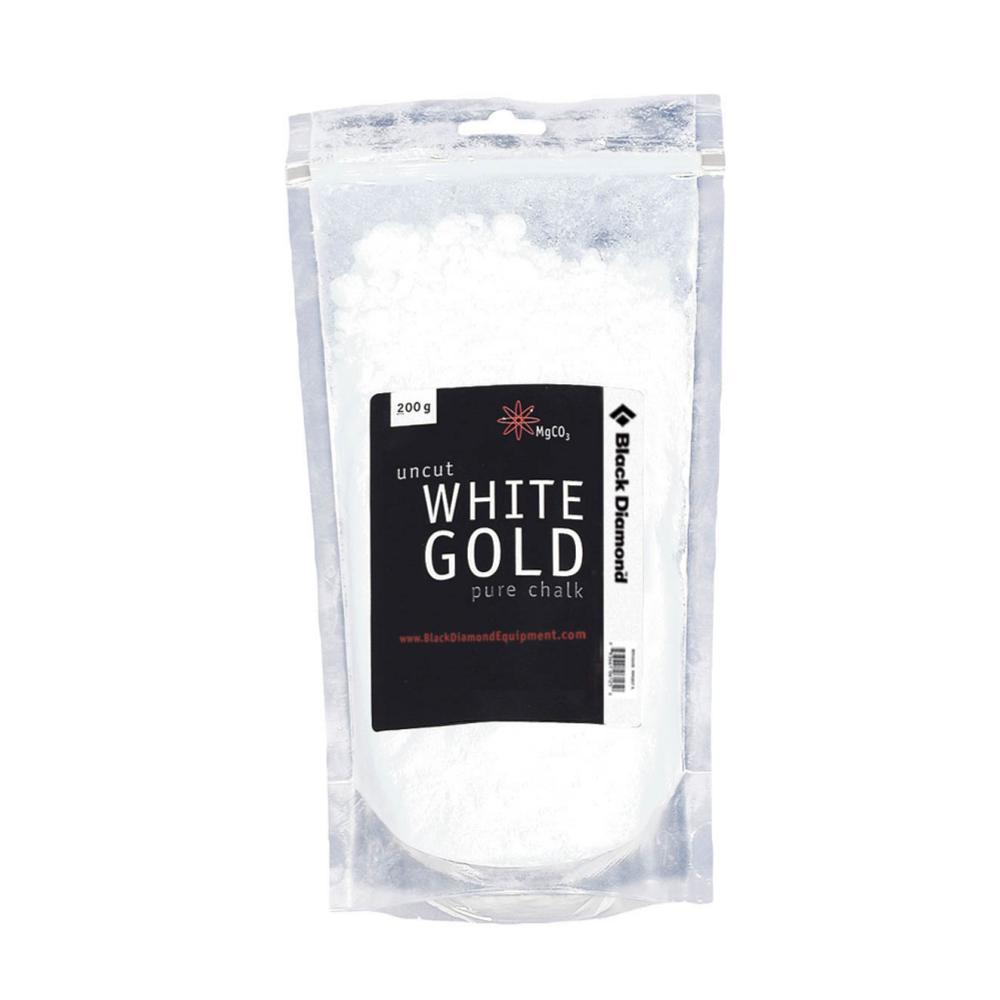 Black Diamond White Gold 200g Loose Chalk WHITE