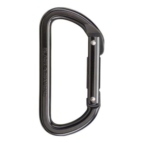 Black Diamond Light D Carabiner Black
