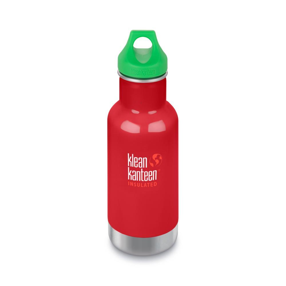 Klean Kanteen Kid Classic Insulated Bottle - 12oz MINERALRED